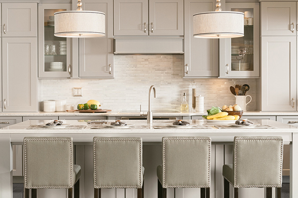 Knight Carpet & Flooring is a proud supplier of custom, made to order Kitchen and Bath Cabinetry.